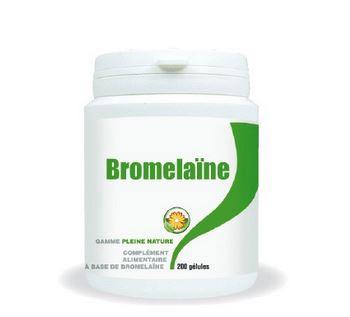 dosage bromelaïne