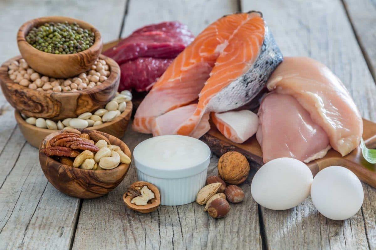 Menu regime Natman : une quantité importante de protéines animales et végétales