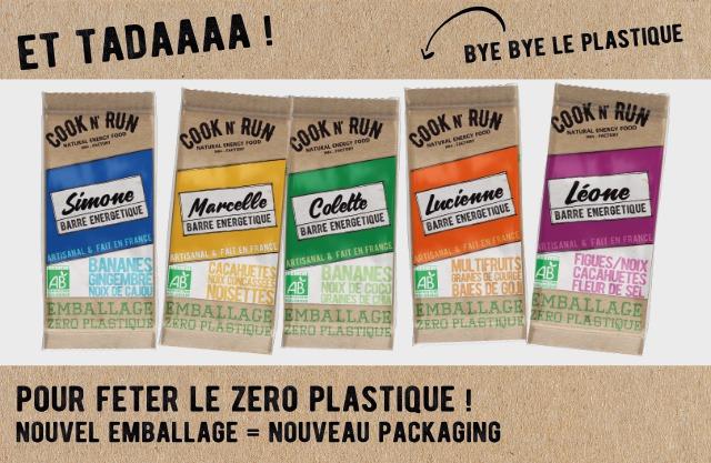 Cook'n'run fait peau neuve en faisant fin des emballages en plastique