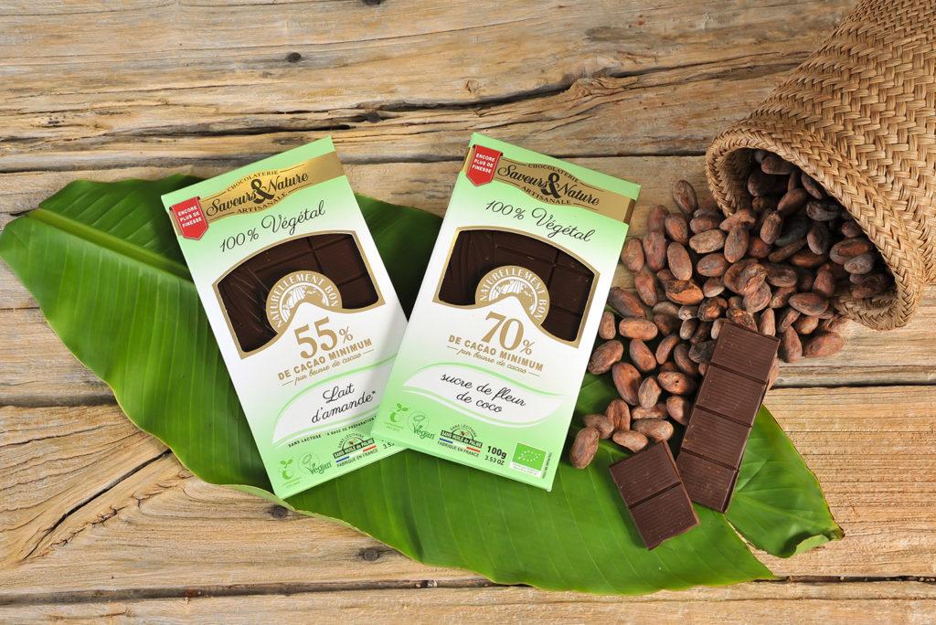 Du chocolat bio, 0 gluten et 0 graisse animale